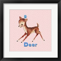 Framed Cute Baby Deer