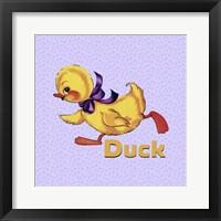 Framed Cute Duckling