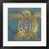 Framed Deep Sea Life III