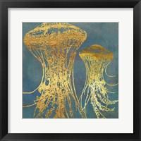 Framed Deep Sea Life IV