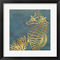 Framed Deep Sea Life V