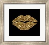 Framed 24 Karat Kiss