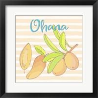 Framed Mango Ohana