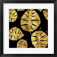 Framed Tropiques dores Noir
