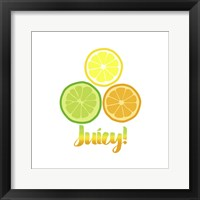 Framed Juicy white