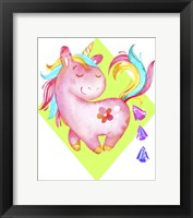 Framed Unicorns Poop Crystals I