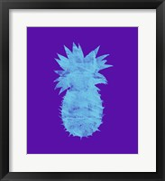 Framed Sponge Pineapple Aqua