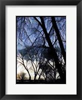 Framed City Sunrise 1