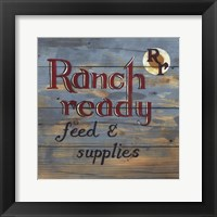 Framed Ranch Ready