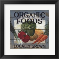 Framed Organic Foods