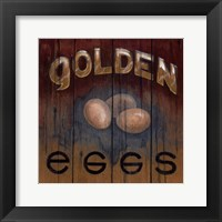 Framed Golden Eggs
