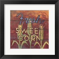 Framed Fresh Sweet Corn