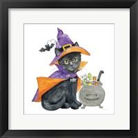 Framed Halloween Pets I