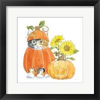 Framed Halloween Pets II