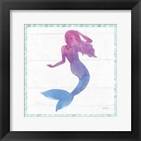 Framed Mermaid Friends III
