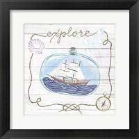 Framed Ship in a Bottle Explore Shiplap
