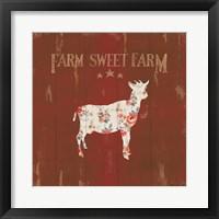 Framed Farm Patchwork XI