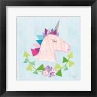 Framed Unicorn Power III
