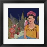 Framed Frida A Casa Azul Revisitated