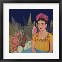 Framed Frida A Casa Azul Revisitated