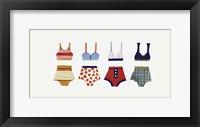 Framed Les Bikinis