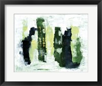 Framed Abstract 1 Green