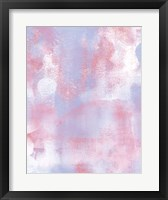 Framed Abstract 3 Cotton Candy