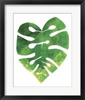 Framed Palm Leaf 3
