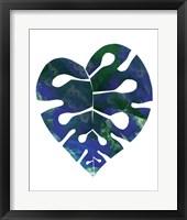 Framed Palm Leaf 4