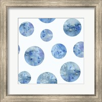 Framed Bubble Pattern on White