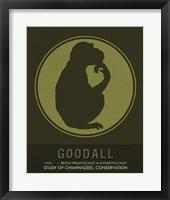 Framed Goodall