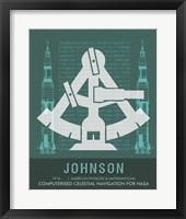 Framed Johnson