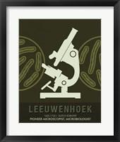Framed Leeuwenhoek
