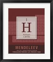 Framed Mendeleev