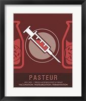 Framed Pasteur