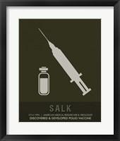 Framed Salk
