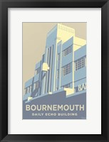 Framed Bournemouth Daily Echo Building