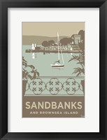 Framed Sandbanks And Brownsea Island 2