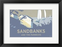 Framed Sandbanks And The Purbecks Landscape