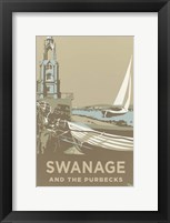 Framed Swanage Tower