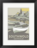 Framed Southwold Harbour 2