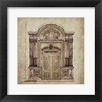 Framed Grand Entrance