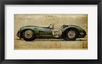 Framed No. 59 Aston Martin DBR