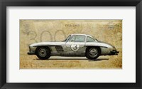 Framed Mercedes 300SL
