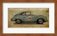 Framed No. 118 Porsche 356