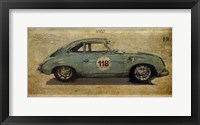 Framed No. 118 Porsche 356