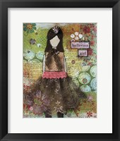 Framed Ballerina Girl