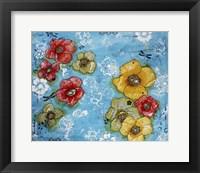 Framed Flower Garden