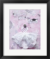 Framed Pink Princess