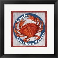 Framed Fresh Crab Sign 1